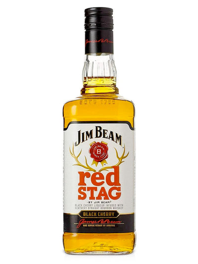 Jim Beam Red Stag Black Cherry Kentucky Bourbon Whiskey 1L