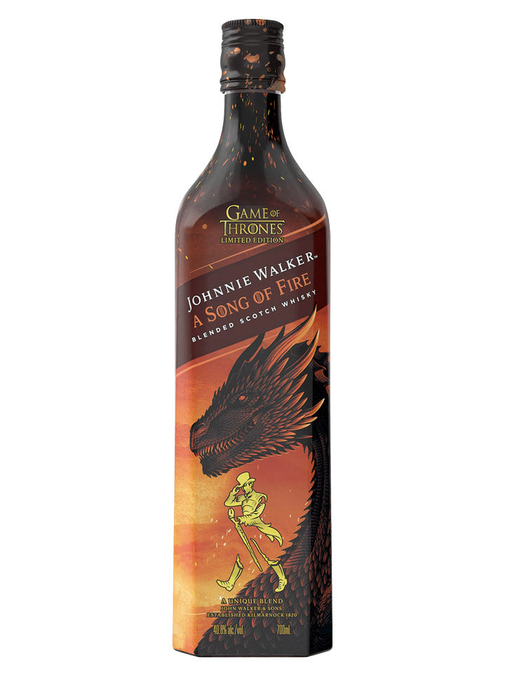 Johnnie Walker A Song of Fire Scotch Whisky 700mL