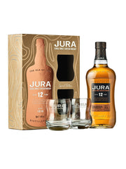 Jura 12 Year Old + 2 Glasses Special Edition Gift Pack Single Malt Scotch Whisky 700mL