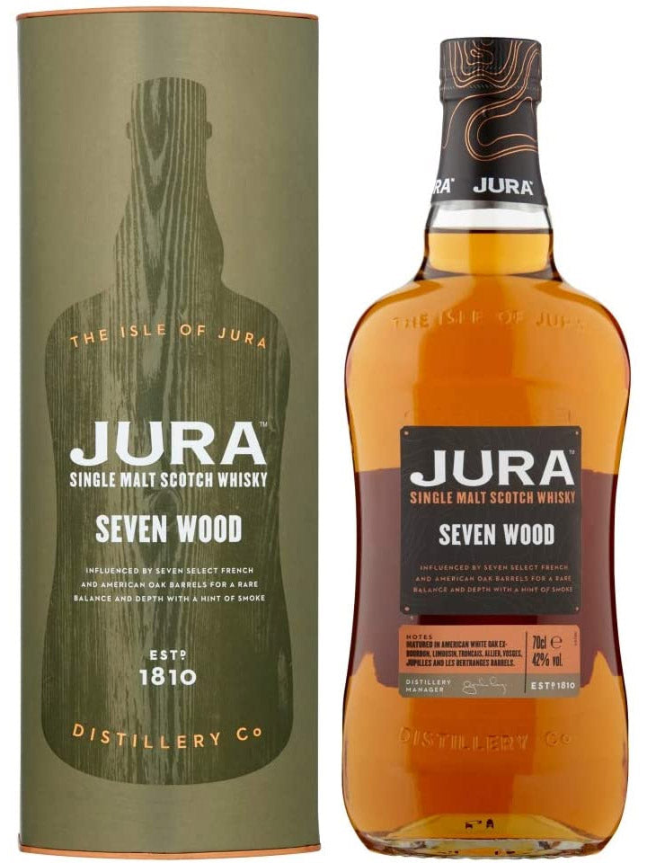 Jura Seven Wood Single Malt Scotch Whisky 700mL