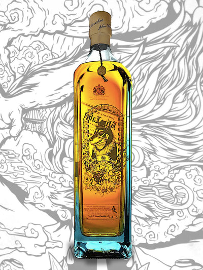 Johnnie Walker Blue Label Zodiac Collection Year Of The Dog Blended Scotch Whisky 1L