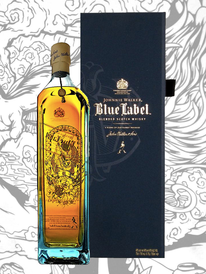 Johnnie Walker Blue Label Zodiac Collection Year Of The Dragon Blended Scotch Whisky 1L
