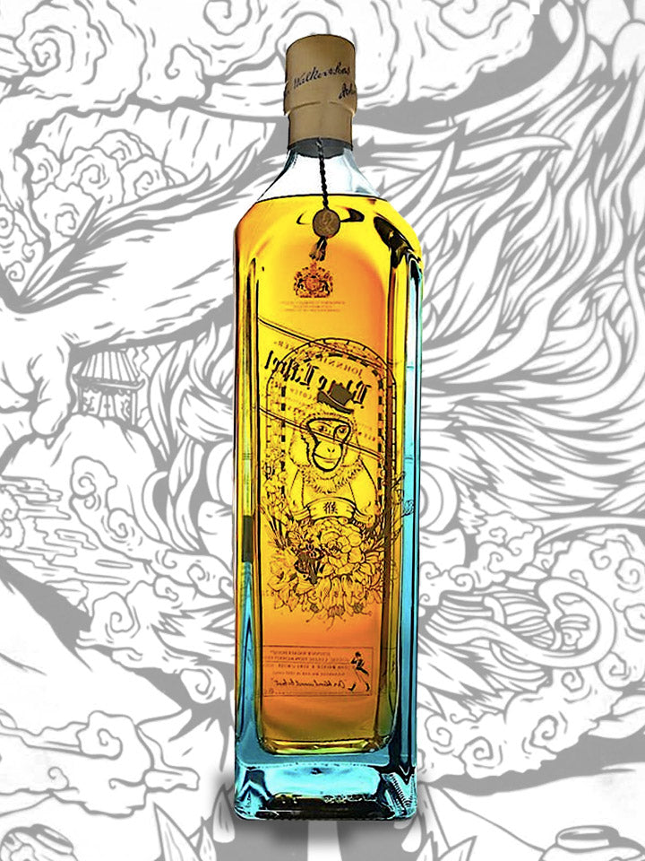 Johnnie Walker Blue Label Zodiac Collection Year Of The Monkey Blended Scotch Whisky 1L