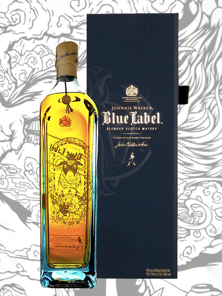 Johnnie Walker Blue Label Zodiac Collection Year Of The Goat Blended Scotch Whisky 1L