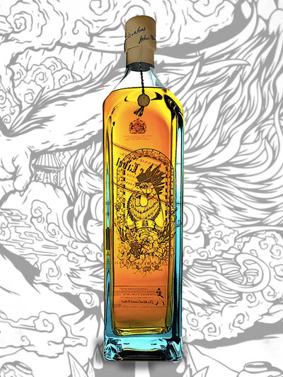 Johnnie Walker Blue Label Zodiac Collection Year Of The Rooster Blended Scotch Whisky 1L