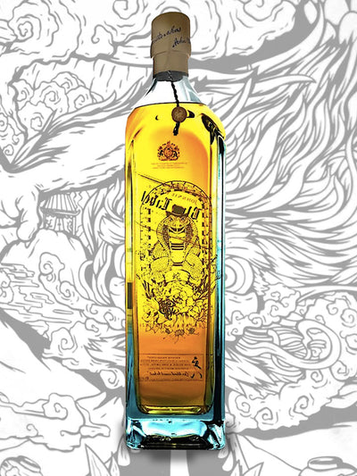Johnnie Walker Blue Label Zodiac Collection Year Of The Snake Blended Scotch Whisky 1L