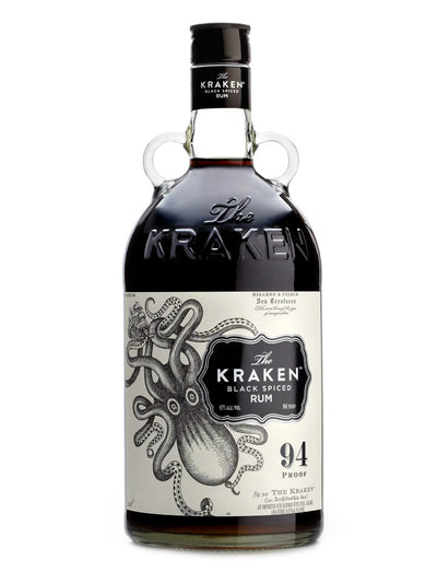 Kraken 94 Proof 47% ABV Black Spiced Rum 750mL