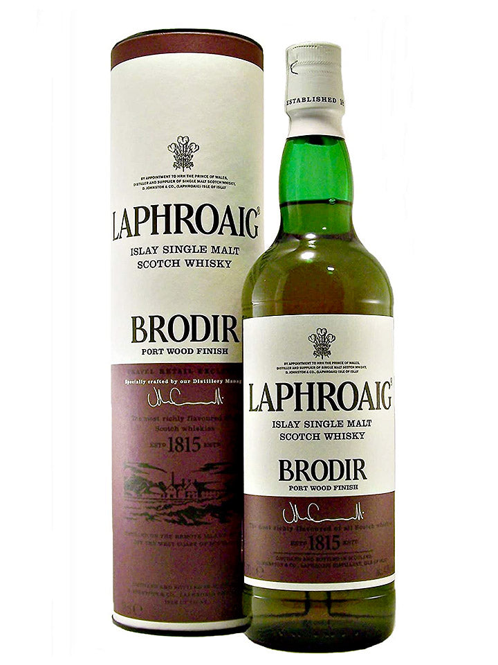 Laphroaig Brodir Port Wood Finish Single Malt Scotch Whisky 700mL