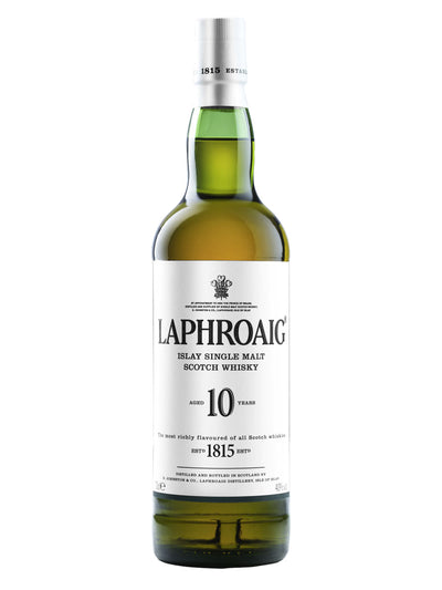 Laphroaig 10 Year Old Single Malt Scotch 700ml