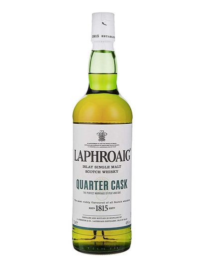 Laphroaig Quarter Cask Single Malt Scotch 700mL