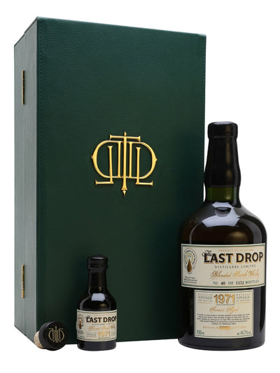 The Last Drop 1971 Blended Scotch Whisky 700mL + 50mL