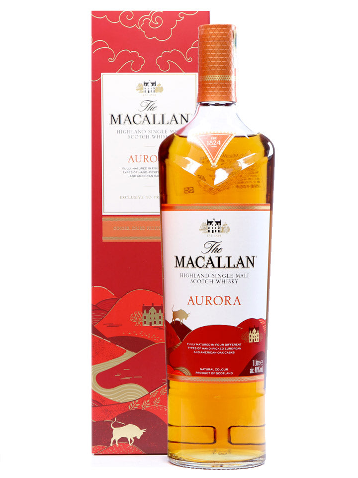 The Macallan Aurora Year Of The Ox Limited Edition Single Malt Scotch Whisky 1L