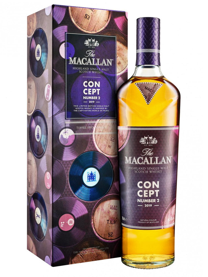 The Macallan 2019 Concept Number 2 Single Malt Scotch Whisky 700mL