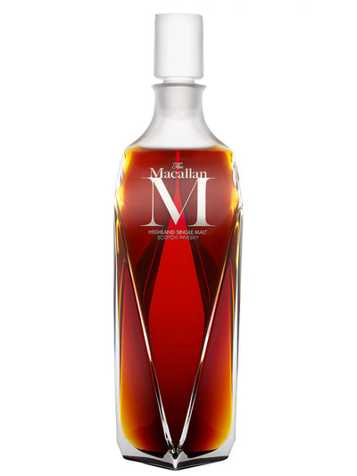 Pre-order: The Macallan M Decanter Single Malt Scotch Whisky 700mL