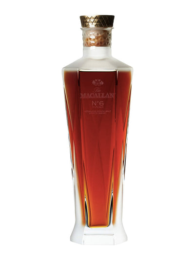 Pre-order: The Macallan No. 6 Lalique Decanter Scotch Whisky 700mL