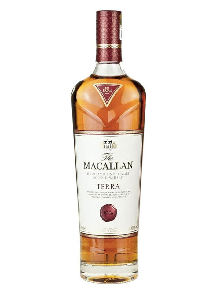 The Macallan Terra Highland Single Malt Scotch Whisky 700mL