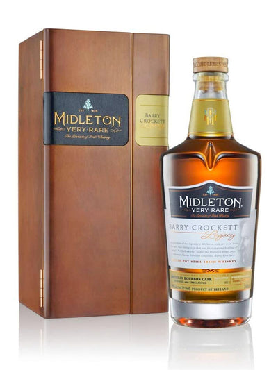 Midleton Barry Crockett Very Rare Legacy Single Pot Still Irish Whiskey 750mL