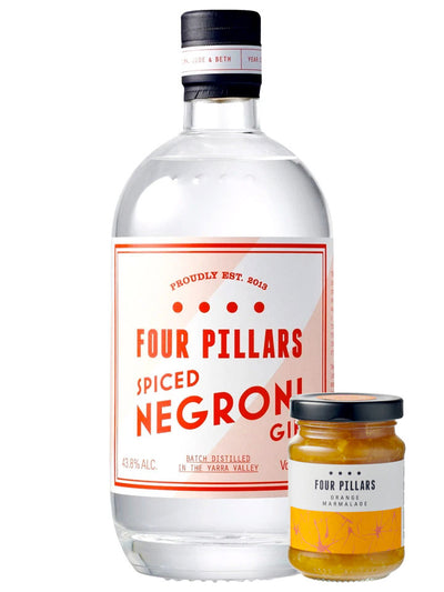 Four Pillars Spiced Negroni Gin + Jam 700mL