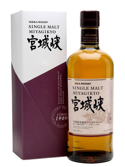 Nikka Miyagikyo With Gift Box Single Malt Japanese Whisky 700mL
