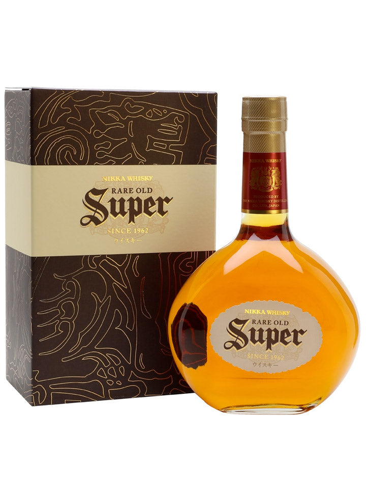 Nikka Super Rare Old With Gift Box Japanese Whisky 700mL
