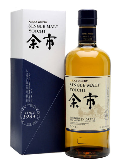 Nikka Yoichi With Gift Box Single Malt Japanese Whisky 700mL