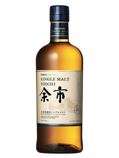 Nikka Yoichi Single Malt Japanese Whisky 700mL