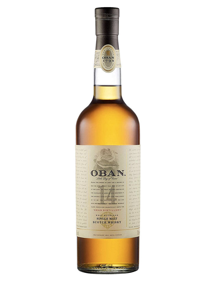 Oban 14 Year Old Single Malt Scotch Whisky 700mL