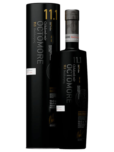 Bruichladdich Octomore 11.1 Islay Single Malt Scotch Whisky 700mL
