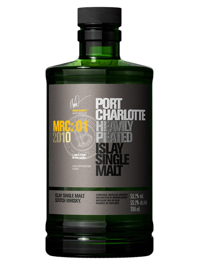 Bruichladdich Port Charlotte MRC:01 2010 Islay Single Malt Scotch Whisky 700mL