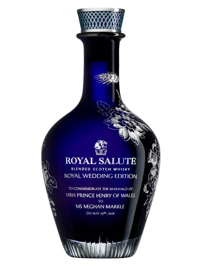 Pre-order: Royal Salute The Royal Wedding Edition Blended Scotch Whisky 700mL
