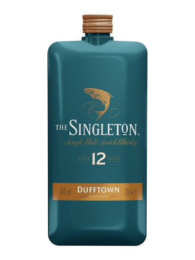 Singleton of Dufftown 12 Year Old Limited Edition Flask Single Malt Scotch Whisky 200mL