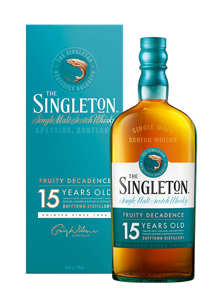 Singleton of Dufftown 15 Year Old Single Malt Scotch Whisky 700mL