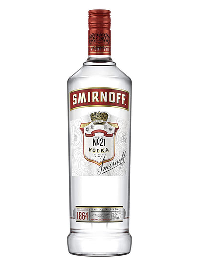 Smirnoff Red Label Russian Vodka 1L