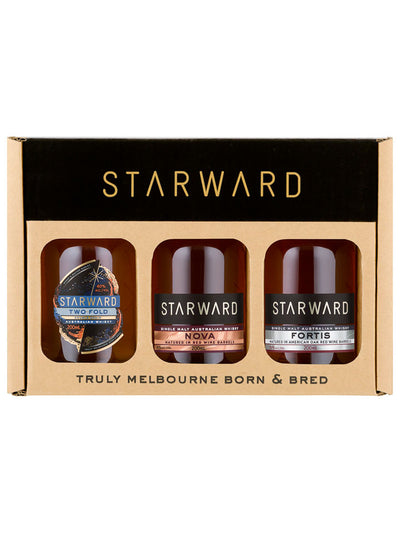 Starward Australian Whisky Tasting Gift Pack 3 x 200mL