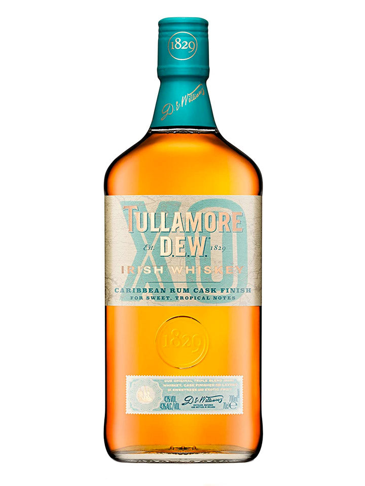 Tullamore DEW XO Caribbean Rum Cask Finish Irish Blended Whiskey 700mL
