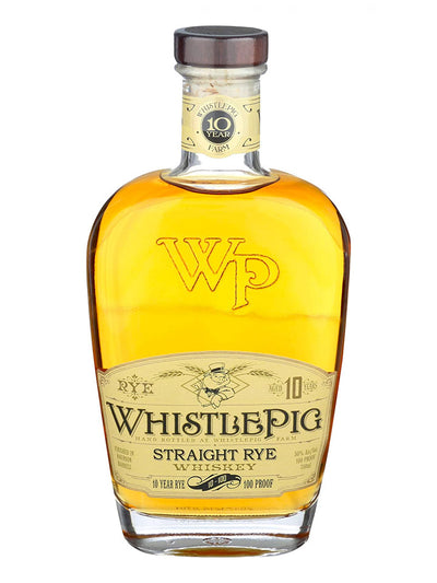 Whistlepig 10 Year Old Straight Rye Canadian Whiskey 750mL