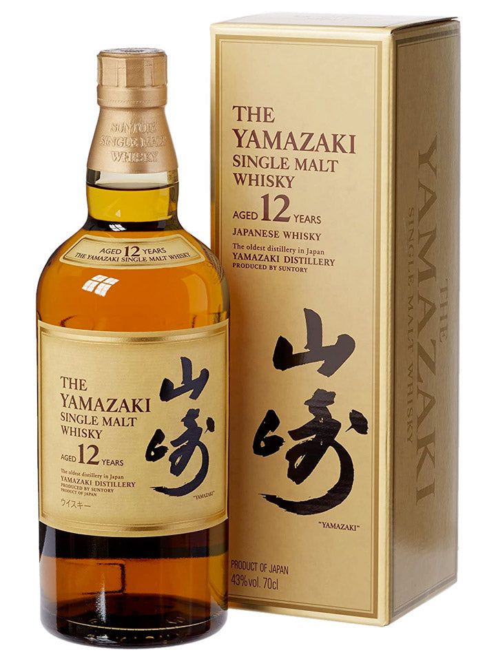 Yamazaki 12 Year Old Single Malt Japanese Whisky (Old Box) 700mL
