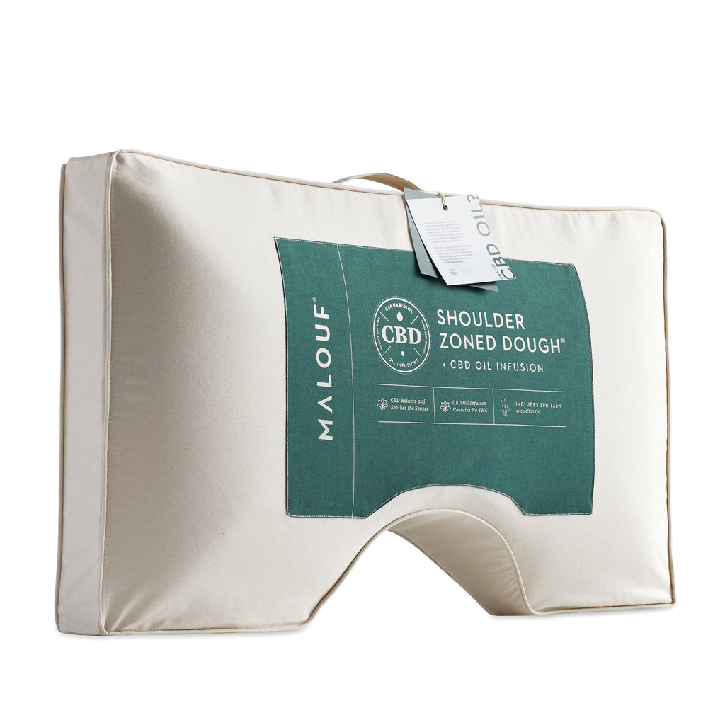 Zoned Dough + CBD Oil Shoulder Pillow