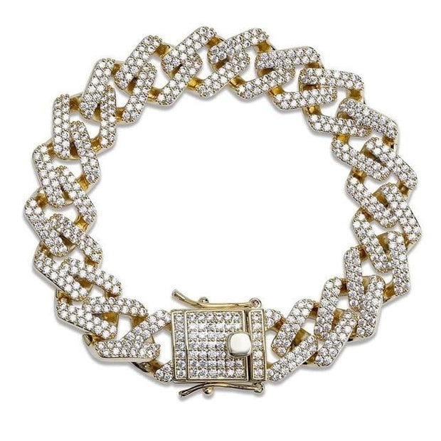 Cuban Link Bracelet - ICEY Jewelry - Iced Out High Quality Afforable Jewelry