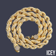 Luxury Rope Chain - ICEY Jewelry - Iced Out High Quality Afforable Jewelry