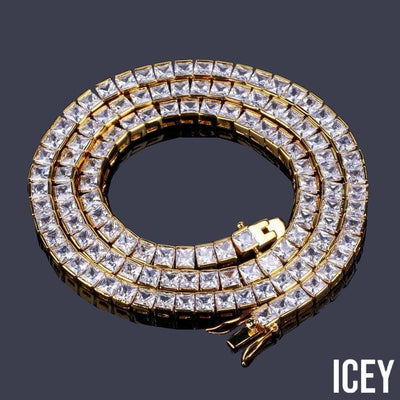 1 Row 6mm Pave Necklace - ICEY Jewelry - Iced Out High Quality Afforable Jewelry