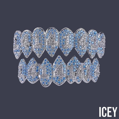 Iced Out 1414 Fang Grillz - ICEY Jewelry - Iced Out High Quality Afforable Jewelry