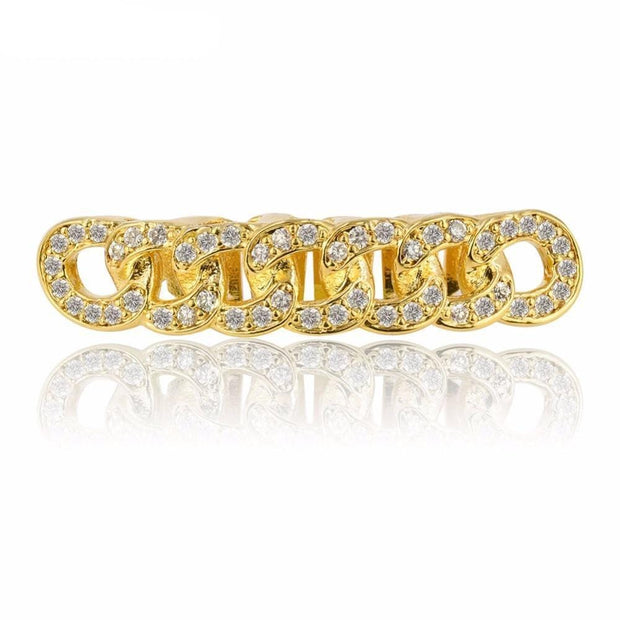Cuban Link Grillz - ICEY Jewelry - Iced Out High Quality Afforable Jewelry