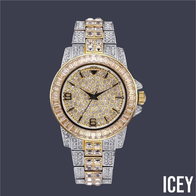 Paved Quartz Watch - ICEY Jewelry - Iced Out High Quality Afforable Jewelry