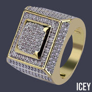 Anchor Ring - ICEY Jewelry - Iced Out High Quality Afforable Jewelry