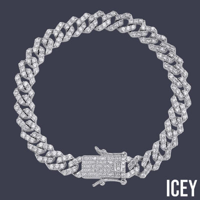 Miami Cuban Chain Bracelet - ICEY Jewelry - Iced Out High Quality Afforable Jewelry