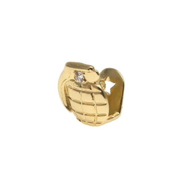 Grenade Tooth Cap Grillz - ICEY Jewelry - Iced Out High Quality Afforable Jewelry