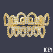 Hollow Iced Out Grillz - ICEY Jewelry - Iced Out High Quality Afforable Jewelry