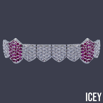 Two Tone Bottom Grillz - ICEY Jewelry - Iced Out High Quality Afforable Jewelry