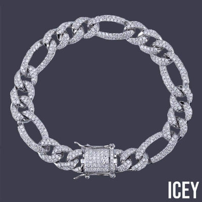 Cuban Box Lock NK Bracelet - ICEY Jewelry - Iced Out High Quality Afforable Jewelry